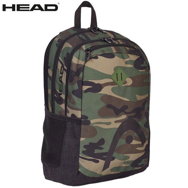 Head - Ученическа ергономична раница HD-23 Black Camouflage 502017037