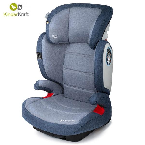KinderKraft - Столче за кола Expander IsoFix 15-36кг синьо 22201