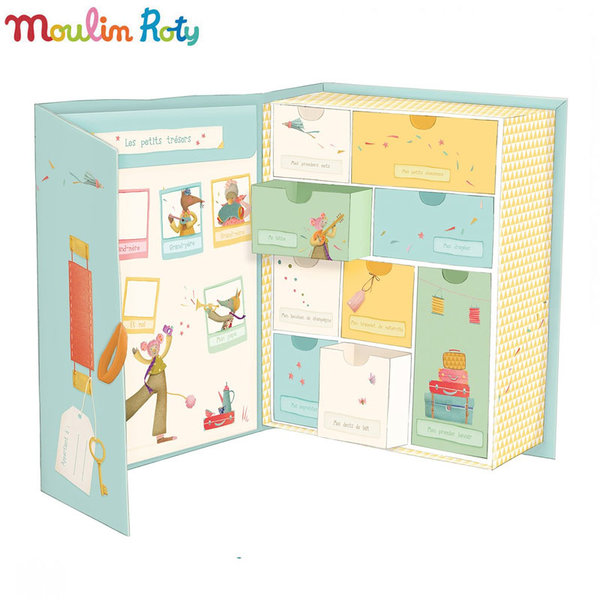 Moulin Roty - Кутия за съхранение на бебешки спомени 662107