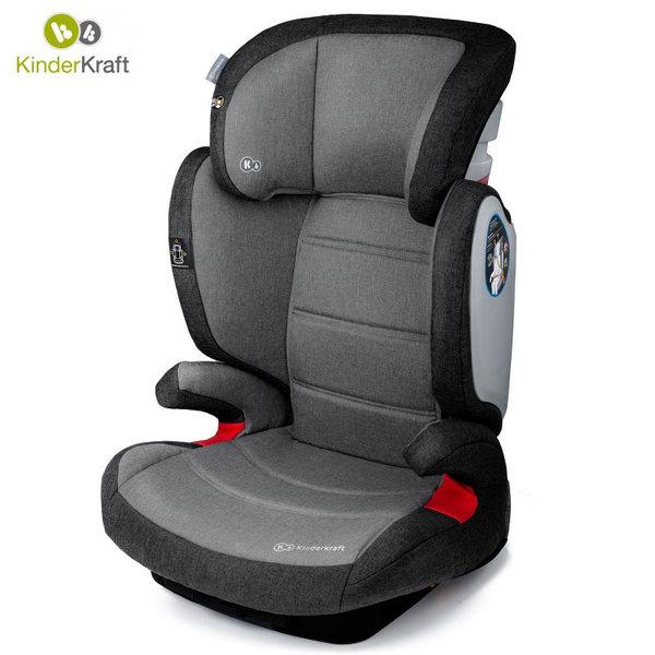 KinderKraft - Столче за кола Expander IsoFix 15-36кг сиво 22200