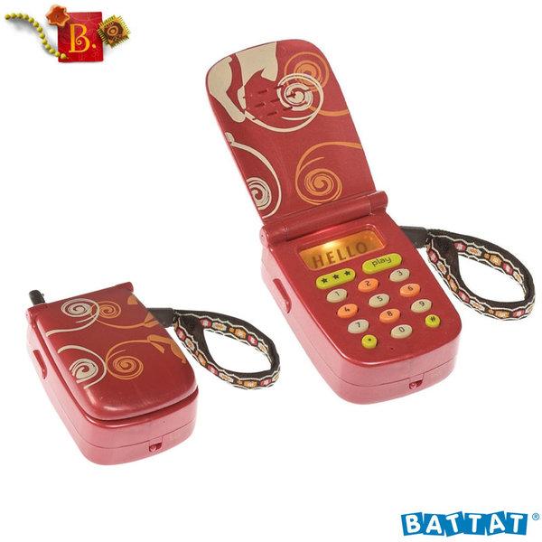 1B.Toys - Детски телефон със звук, светлина и запис Hellophone BX1177Z
