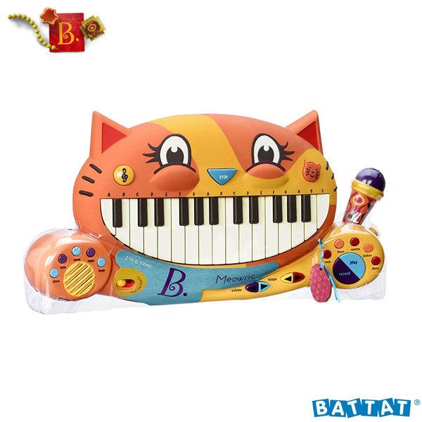 B.Toys - Детско електронно пиано с микрофон Meowsic™ BX1025Z