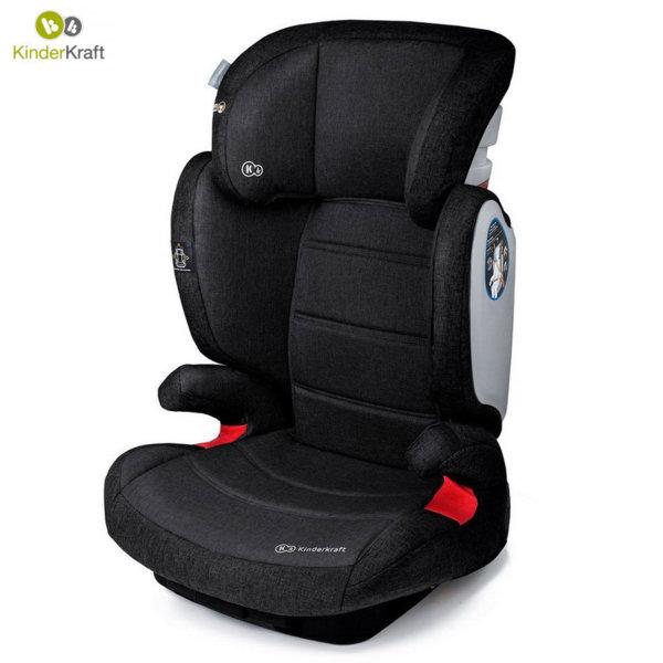 KinderKraft - Столче за кола Expander IsoFix 15-36кг черно 22199