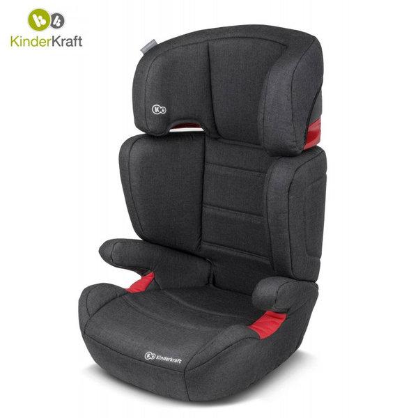KinderKraft - Столче за кола Junior Plus 15-36кг черно 22205