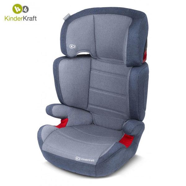 KinderKraft - Столче за кола Junior Plus 15-36кг синьо 22204