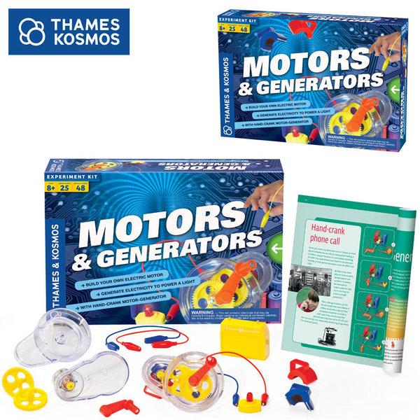 Thames&Kosmos - Забавен комплект Мотори и генератори 665036