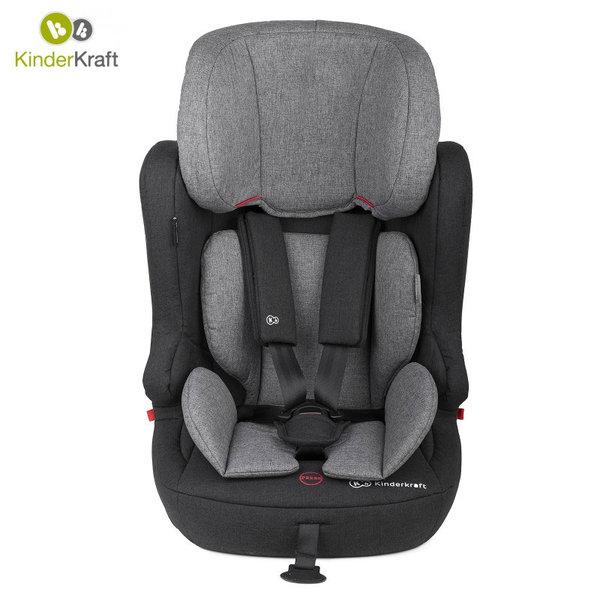 KinderKraft - Столче за кола FIX2GO ISOFIX 9-36кг сиво 22234