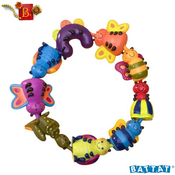 1B.Toys - Комплект буболечки за нанизване Snug Bugs™ BX1099Z