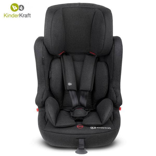 KinderKraft - Столче за кола FIX2GO ISOFIX 9-36кг черно 22235