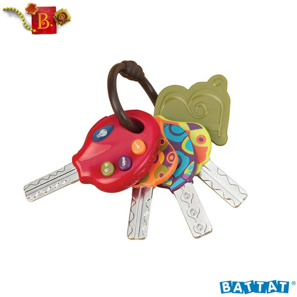 1B.Toys - Музикални ключове с фенерче LucKeys™ BX1227Z