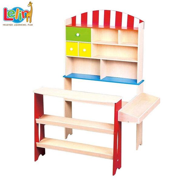 Lelin Toys Дървен детски магазин 40030