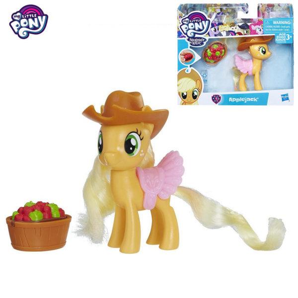 My Little Pony - Моето малко пони Училище за приятелство Applejack с магически аксесоар E1928