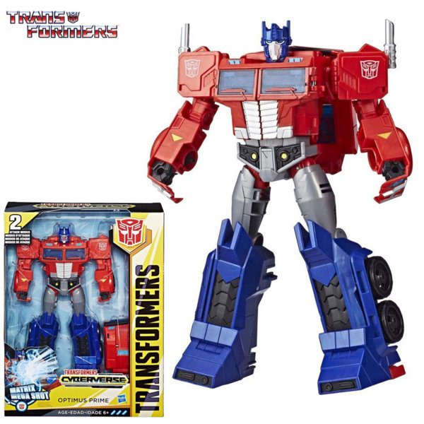 Transformers - Трансформърс Cyberverse Ultimate OPTIMUS PRIME E1885