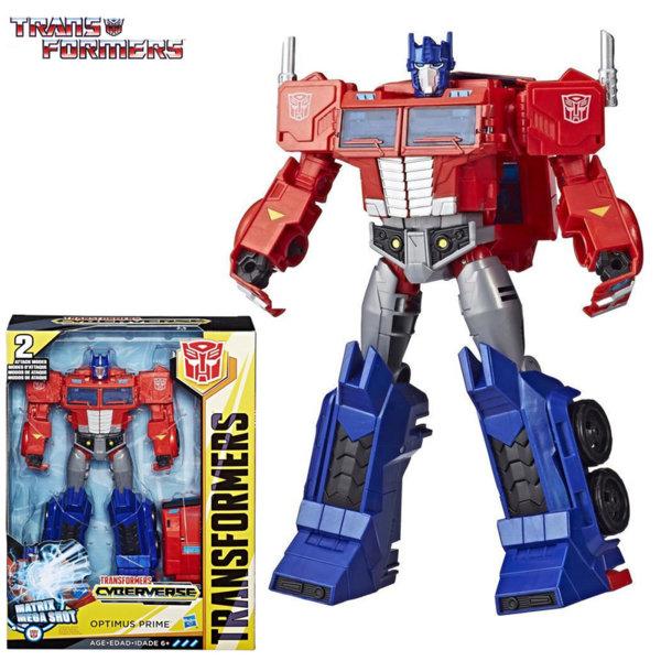 Transformers - Трансформърс Cyberverse Ultimate OPTIMUS PRIME E1885
