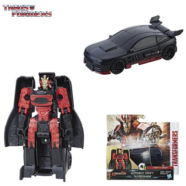 Transformers - Трансформърс Cyberfire 1-Step Autobot Drift C0884