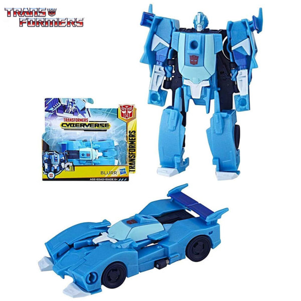 Transformers - Трансформърс Cyberverse 1-Step Blurr E3522