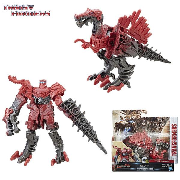 Transformers - Трансформърс Cyberfire 1-Step Scorn C0884
