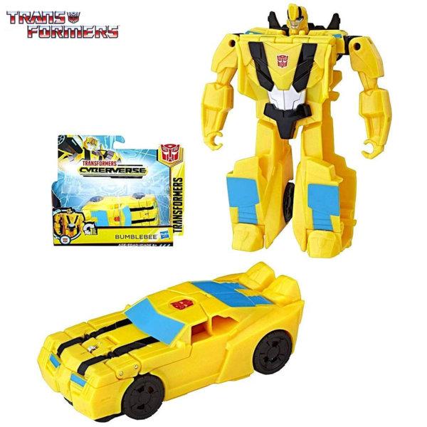 Transformers - Трансформърс Cyberverse 1-Step Bumblebee E3522