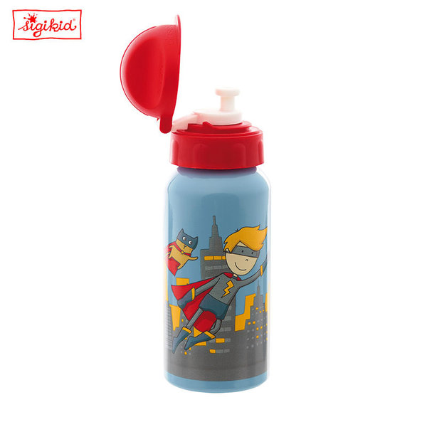 Sigikid - Pille Power Алуминиева бутилка за вода 25011
