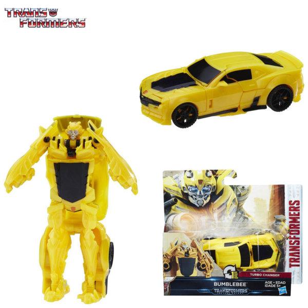 Transformers - Трансформърс Cyberfire 1-Step Bumblebee C0884