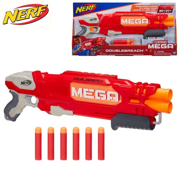 Hasbro Nerf - Нърф Елит Бластер Mega Doublebreach B9789
