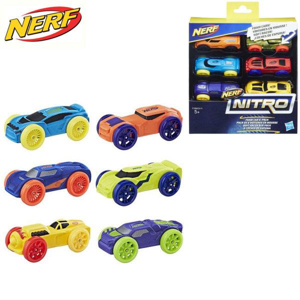 Hasbro Nerf Nitro - Нърф нитро колички 6 броя C3171