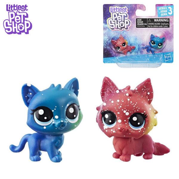 Littlest Pet Shop - Комплект малки домашни любимци 2бр. Cosmic Pounce BFFS котета e2128