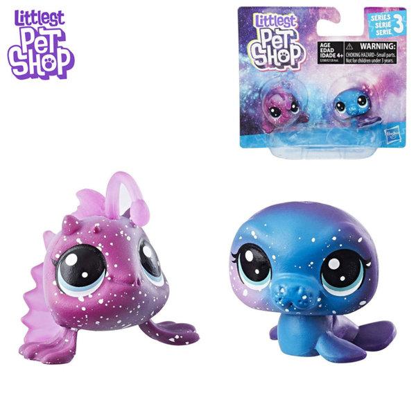 Littlest Pet Shop - Комплект малки домашни любимци 2бр. Cosmic Pounce BFFS рибки e2128