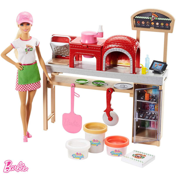 Barbie - Кукла Барби Шеф-пица FHR09