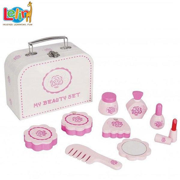 Lelin Toys - Детско куфарче за козметика 50037