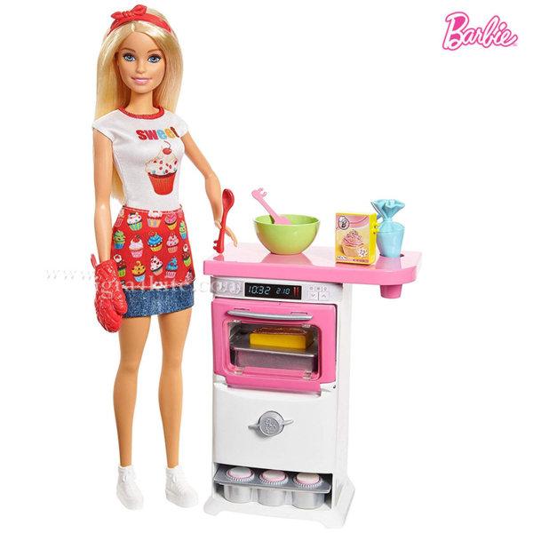 Barbie - Кукла Барби шеф готвач сладкар FHP57