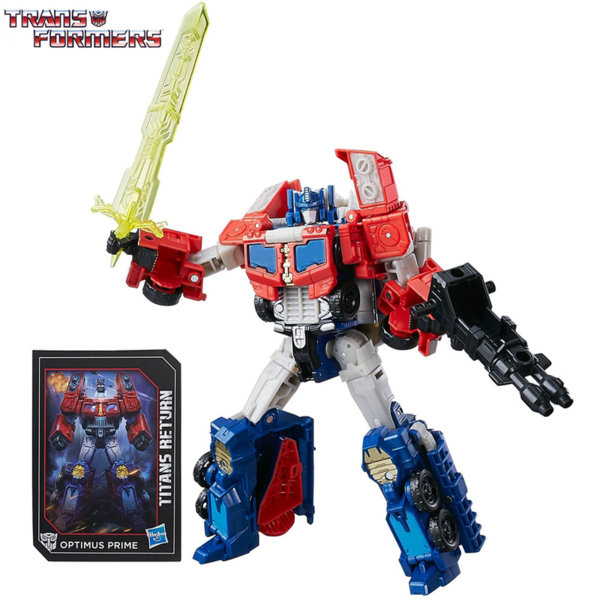 Transformers - Трансформърс Titans Return Optimus Prime & Diac B7769