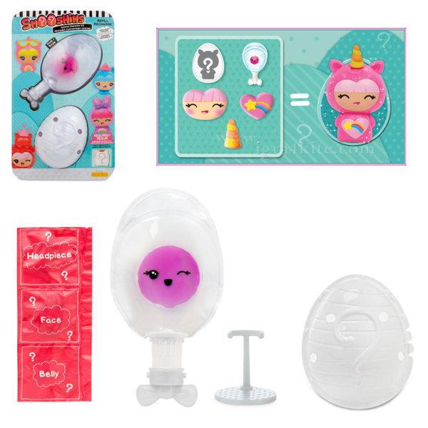 Smooshins - Пълнител и черупка за розова кукла Смушинс 115403E4