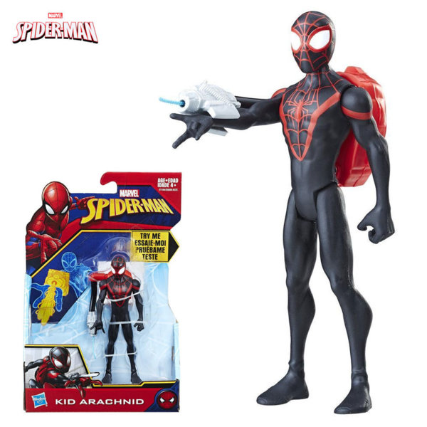 Hasbro - Spider Man Екшън фигура 15см Kid Arachnid e0808