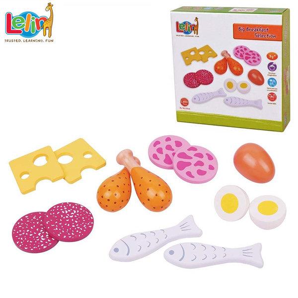 Lelin Toys - Дървени хранителни продукти 40059