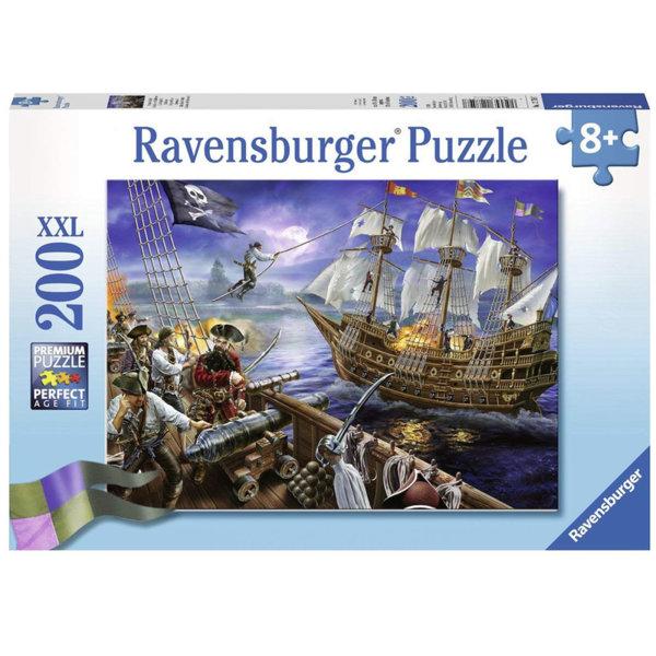 Ravensburger - Пъзел 8+ Disney Карибски пирати 200 части XXL 12759
