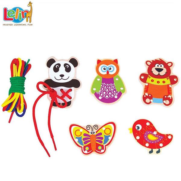 Lelin Toys Забавни животни за шиене 10087