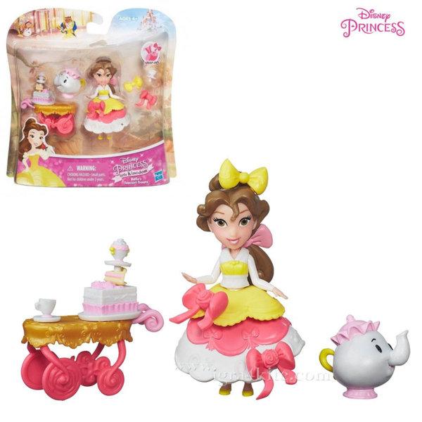 Disney Princess - Бел Чаено парти мини кукла b5334