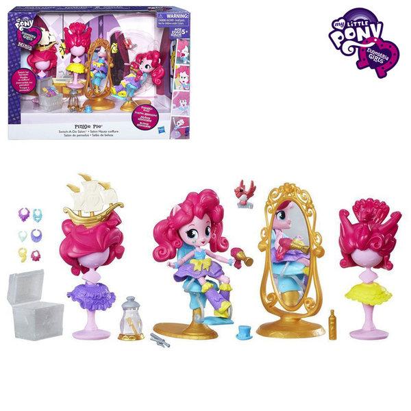 My Little Pony Equestria Girls Minis - Моето малко пони Фризьорския салон на Pinkie Pie b8824