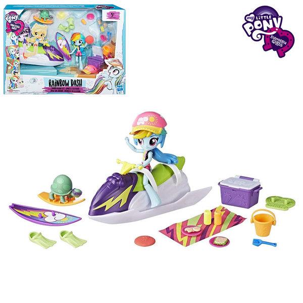 My Little Pony Equestria Girls Minis - Моето малко пони Забавления на плажа с Rainbow Dash B8824