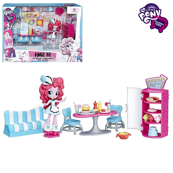 My Little Pony Equestria Girls Minis - Моето малко пони Сладкарницата на Pinkie Pie B8824