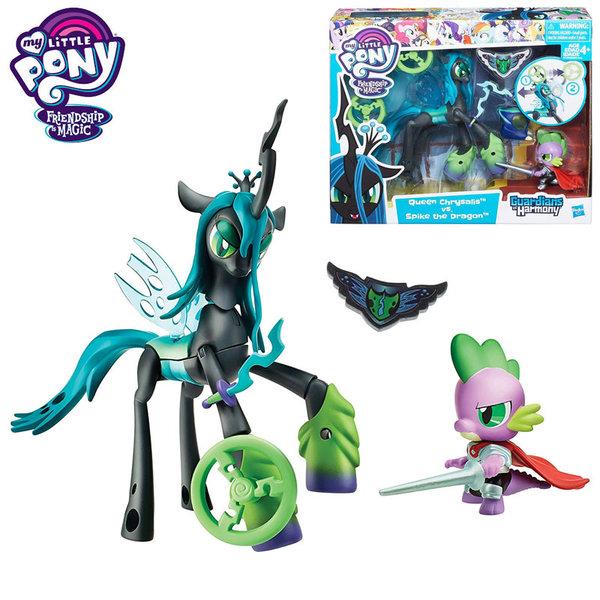 My Little Pony Guardians of Harmony - Моето малко пони Queen Chrysalis vs. Spike the Dragon B6009