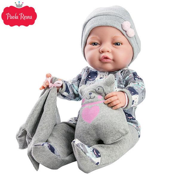 Paola Reina - Bebitos Кукла бебе Bebita с играчка 45см 05182