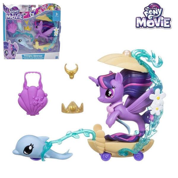 My Little Pony - Моето малко пони Сцена под водата Каляската на Twilight Sparkle c0682