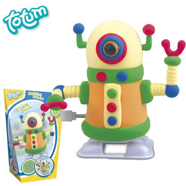 Totum - Направи сам робот жълт 25356