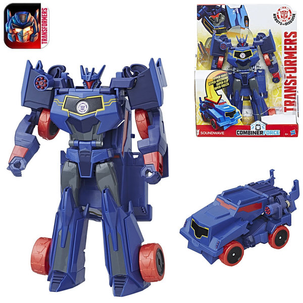 Transformers Robots in Disguise - 3-Step Трансформърс Soundwave B0067