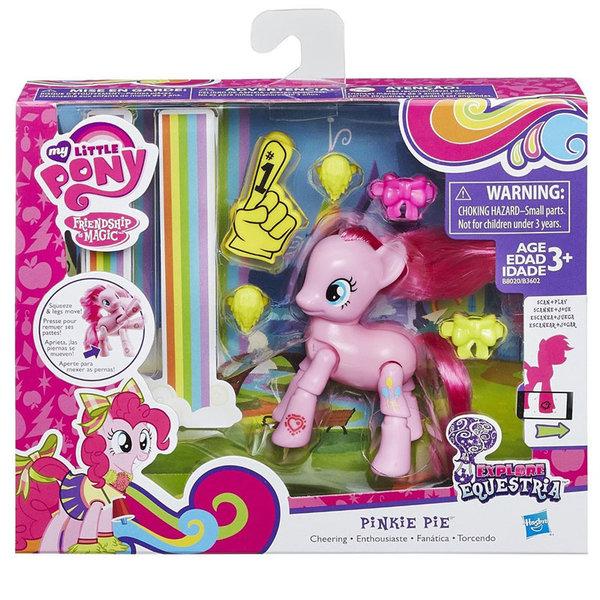 My Little Pony Equestria Girls - Моето малко пони Pinkie Pie с аксесоари B3602