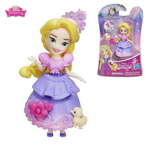 Disney Princess - Мини кукла Рапунцел b5321