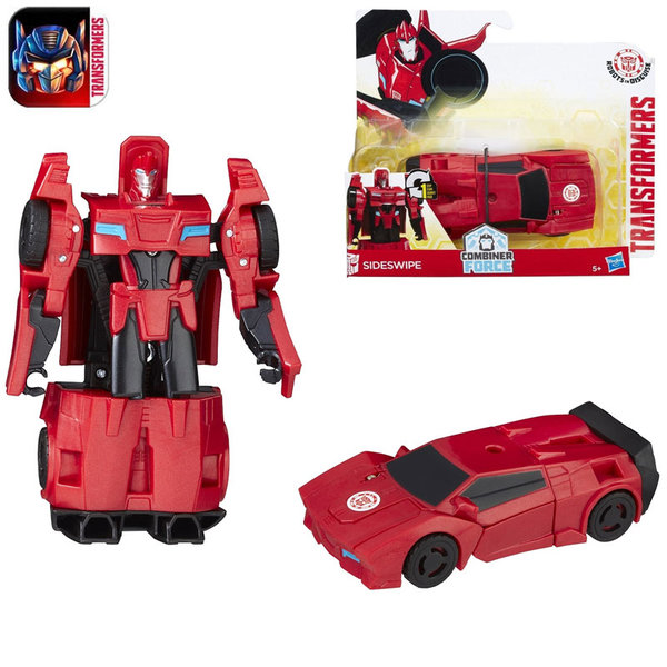Transformers Robots in Disguise - 1-Step Трансформърс Sideswipe B0068