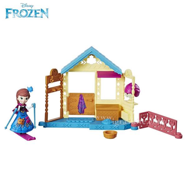 Disney Frozen - Кукла Анна в Спа център E0096